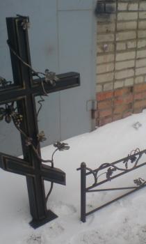 Кованый крест K10