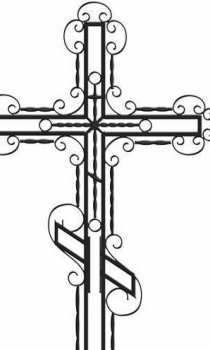 Кованый крест K12