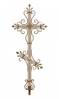 Кованый крест K14