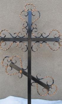 Кованый крест K15