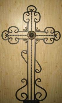 Кованый крест K16