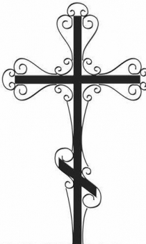 Кованый крест K17
