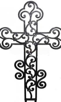Кованый крест K2