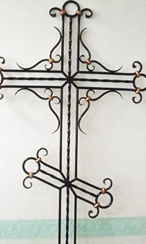 Кованый крест K3