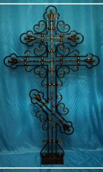Кованый крест K6