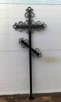 Кованый крест K8