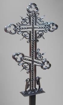 Кованый крест K9