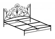 Кровать двуспальная F186