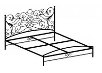 Кровать двуспальная F187