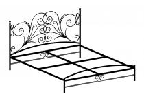 Кровать двуспальная F188