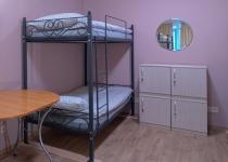Кованая двухъярусная кровать F175