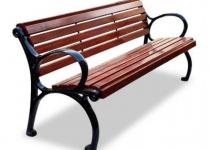 Чугунная скамейка Квартал