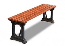 Чугунная скамейка Ладья