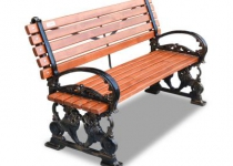 Чугунная скамейка Лео