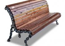 Чугунная скамейка Лукоморье