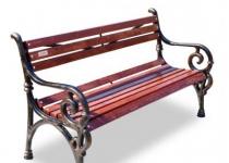 Чугунная скамейка Нега