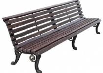 Чугунная скамейка Нева Парковая