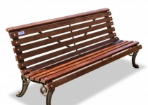Чугунная скамейка Нева