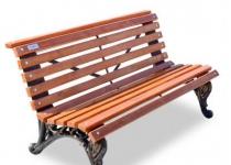 Чугунная скамейка Отдых