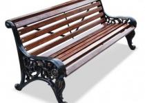 Чугунная скамейка Парковая Тишь