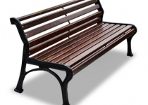 Чугунная скамейка Ретро-Стиль