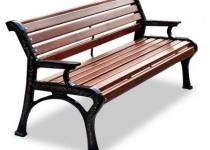 Чугунная скамейка Ретро-Стиль 2