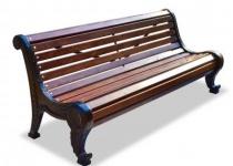 Чугунная скамейка Родник