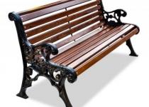 Чугунная скамейка Рязань
