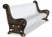 Чугунная скамейка ВДНХ