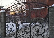 Кованые ворота FG2-0174