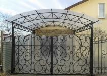 Кованые ворота FG2-0176