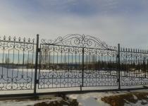 Кованые ворота FG2-0177