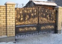 Кованые ворота FG2-0179