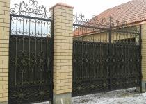 Кованые ворота FG3-0233