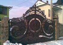 Ворота модель new-003