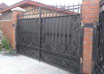 Ворота модель new-019