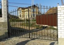 Кованые ворота new-020