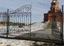 Кованые ворота new-025