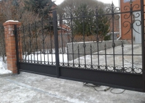 Кованые ворота new-026