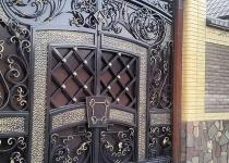 Кованые ворота new-033