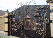 Ворота new-065