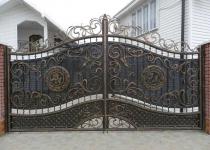 Кованые ворота new-074
