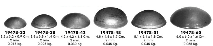 Размер заглушки для саморезов